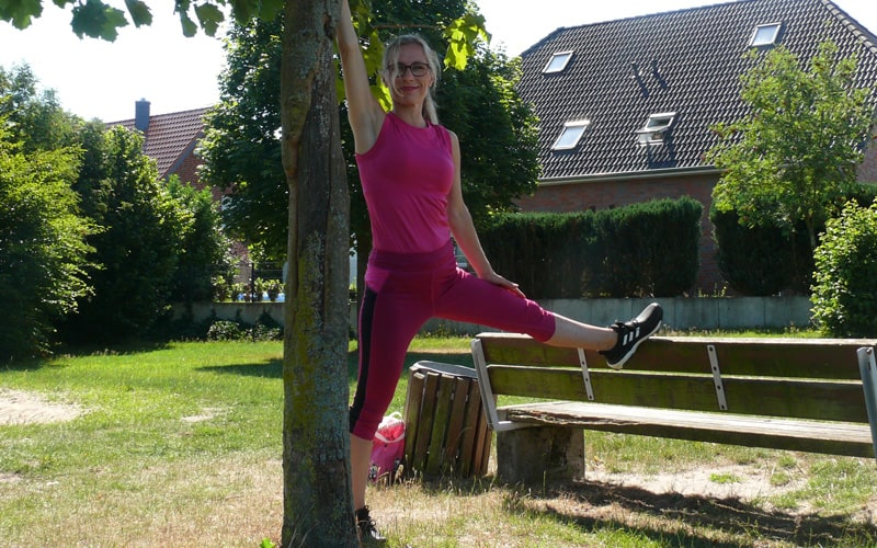 Outdoor-Fitness mit Maike Hoyer