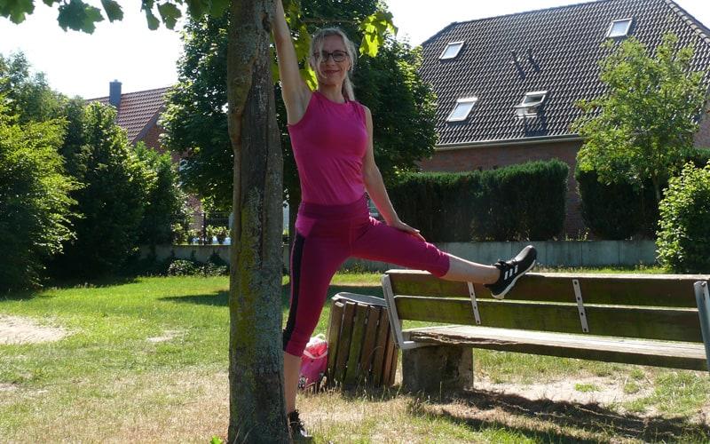 Outdoor-Fitness mit Maike Hoyer - Heilpraktikerin und Vitaltrainerin
