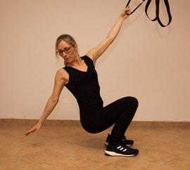 Kurs TRX-Yoga mit Vitaltrainerin Maike Hoyer