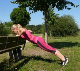 Outdoor-Fitness mit Maike Hoyer